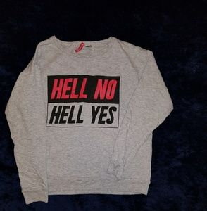 H&M graphic pullover